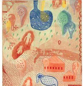 そめや まゆみ銅版画展「あまい記憶、あいまいな記憶」